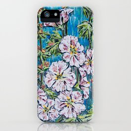 Flowers Painting iPhone Case