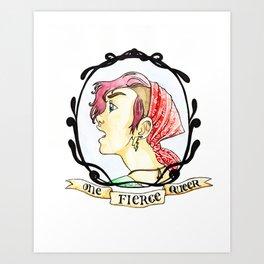 One Fierce Queer Art Print