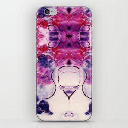 Wine & Flowers Photographic Pattern #2 iPhone Skin