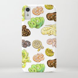 Snakes iPhone Case