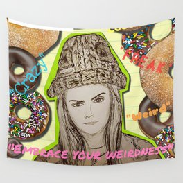 (Cara - Embrace Your Weirdness) - yks by ofs珊 Wall Tapestry
