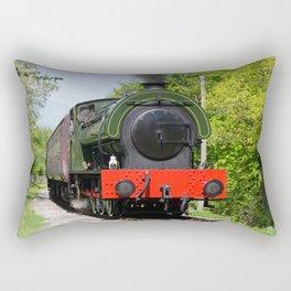 Steam locomotive at Peak Rail Rectangular Pillow