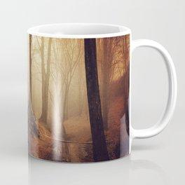 Forest Creek At Sunrise Coffee Mug