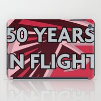 nfl iPad Cases featuring NFL - Falcons 50 Years by Katieb1013