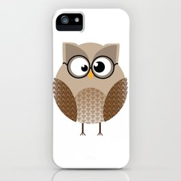 OWL KNOWS EVERYTHING iPhone Case