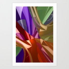 3D-reflections -3- Kunstdrucke