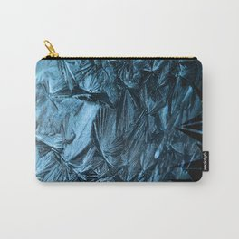 Geometric Frost Carry-All Pouch