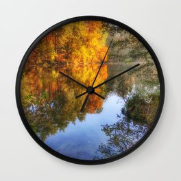 this fantastic autumn Wall Clock
