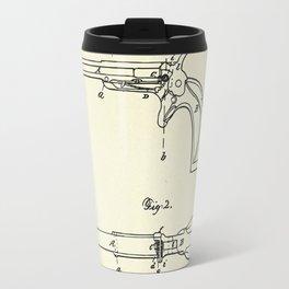 Breech-Loading Fire-Arm-1864 Travel Mug