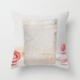 camellia hydrosol Throw Pillow