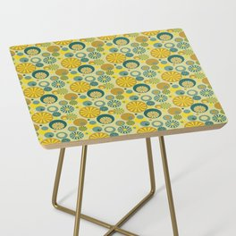 Circle Frenzy - Yellow Side Table