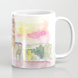 Key West Front Street with Shipwreck Museum Coffee Mug
