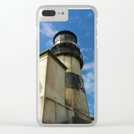Abandoned Lighthouse Clear iPhone Case