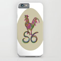 the rooster in the morning iPhone 6s Slim Case