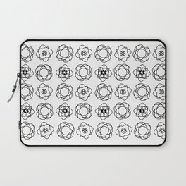 Colouring book flowers Laptop Sleeve