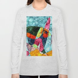 The laughing horse Long Sleeve T-shirt