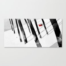 A Winter's Walk Canvas Print