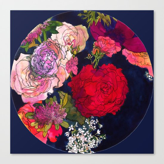 You Promised Me Roses Canvas Print