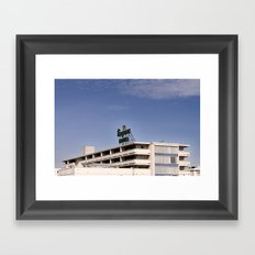 Empress Hotel Framed Art Print