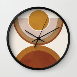 Modern Geometry Wall Clock