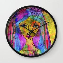 Heliya - The gypsy Queen Wall Clock