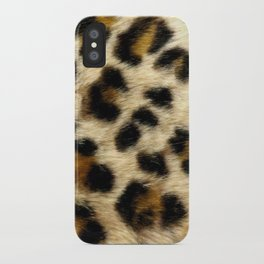 Leopard Print Pattern Animal Print Design iPhone Case