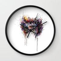 jake Wall Clocks featuring Jake Gyllenhaal by ururuty
