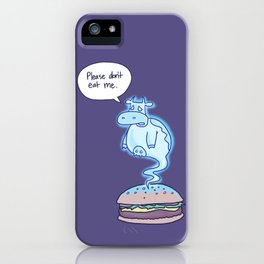 Ghost Cow iPhone Case