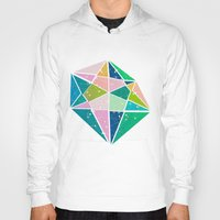 triangles Hoodies featuring triangles by Sara Eshak