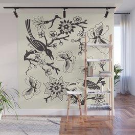 Summer In The Garden Wall Mural