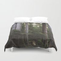 giants Duvet Covers featuring Among Giants by Frances Dierken