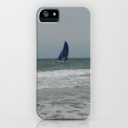 Great day for sailing! iPhone Case