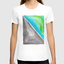 180811 Watercolor Block Swatches 4| Colorful Abstract |Geometrical Art T-shirt