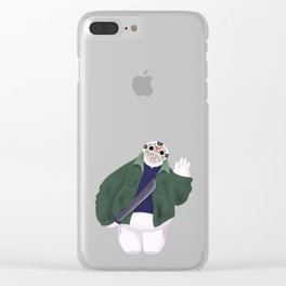 BAYMAX FRIDAY THE 13TH Clear iPhone Case