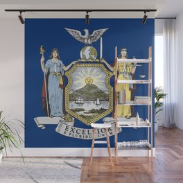 New York State Flag Wall Mural