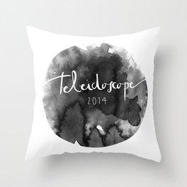 Sello Oficial Teleidoscope2014 Throw Pillow