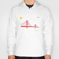 san francisco Hoodies featuring San Francisco.  by Irmak Berktas