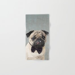 Mr Pug Hand & Bath Towel