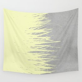 Concrete Fringe Yellow Wall Tapestry