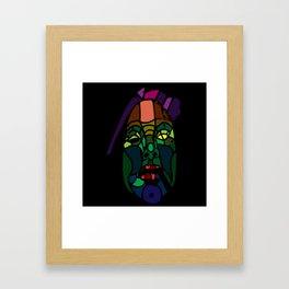 The Gorgon Framed Art Print