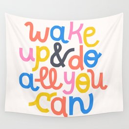 Wake Up Wall Tapestry