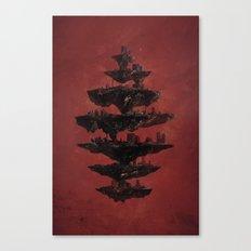 Seven Canvas Print