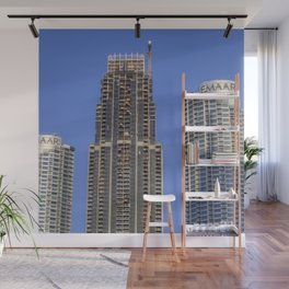 Emaar Properties Buildings Dubai Wall Mural