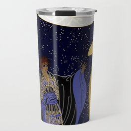 "Art Deco Design ""Night Dream"" Travel Mug"