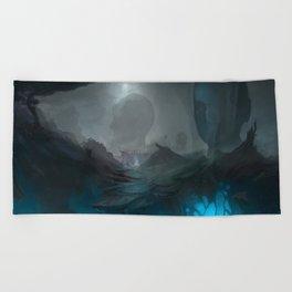 Fracture Beach Towel