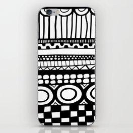 Rows iPhone Skin