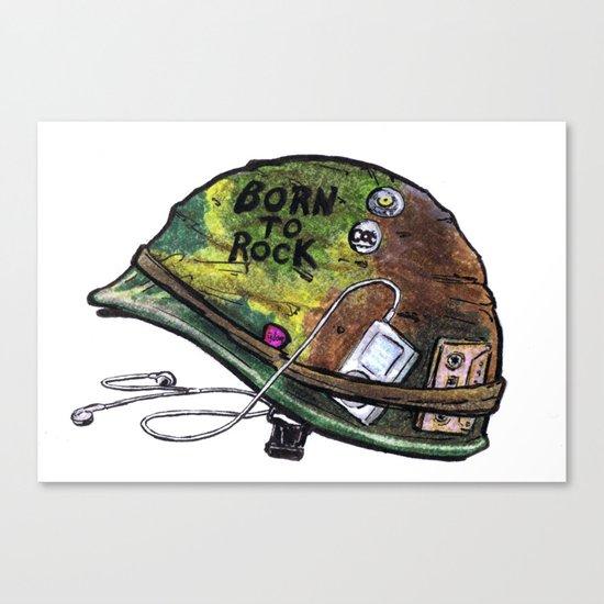"""Born to Rock"" by Cap Blackard Canvas Print"