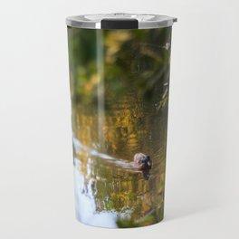 Duck pond Travel Mug