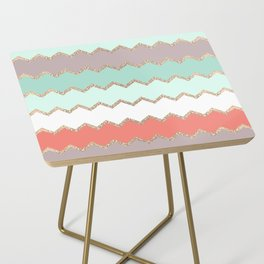 AVALON CORAL MINT Side Table