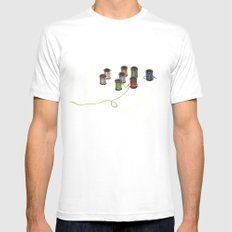 Thread Mens Fitted Tee White MEDIUM